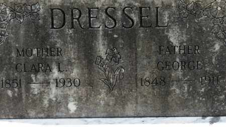 DRESSEL, GEORGE - Erie County, Ohio | GEORGE DRESSEL - Ohio Gravestone Photos
