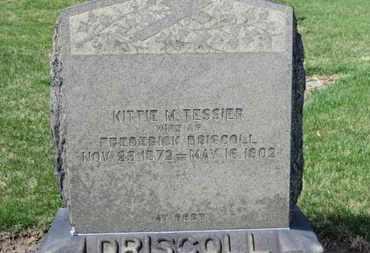 TESSIER DRISCOLL, KITTIE M. - Erie County, Ohio | KITTIE M. TESSIER DRISCOLL - Ohio Gravestone Photos