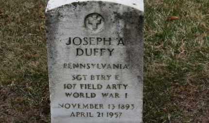 DUFFY, JOSEPH A. - Erie County, Ohio | JOSEPH A. DUFFY - Ohio Gravestone Photos