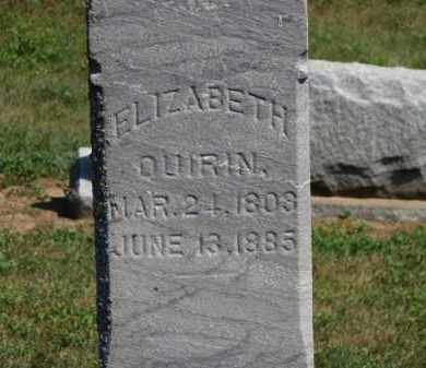 DUIRIN, ELIZABETH - Erie County, Ohio | ELIZABETH DUIRIN - Ohio Gravestone Photos