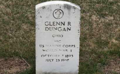 DUNGAN, GLENN R. - Erie County, Ohio   GLENN R. DUNGAN - Ohio Gravestone Photos