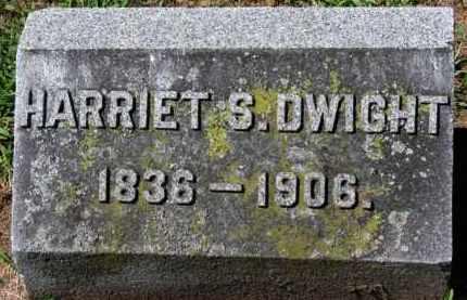 DWIGHT, HARRIET S. - Erie County, Ohio | HARRIET S. DWIGHT - Ohio Gravestone Photos