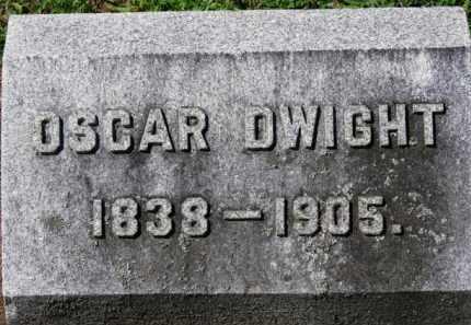 DWIGHT, OSCAR - Erie County, Ohio | OSCAR DWIGHT - Ohio Gravestone Photos