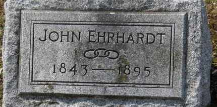 EHRHARDT, JOHN - Erie County, Ohio | JOHN EHRHARDT - Ohio Gravestone Photos