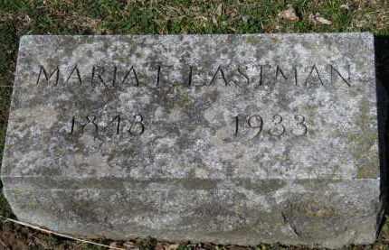 EASTMAN, MARIA F. - Erie County, Ohio   MARIA F. EASTMAN - Ohio Gravestone Photos