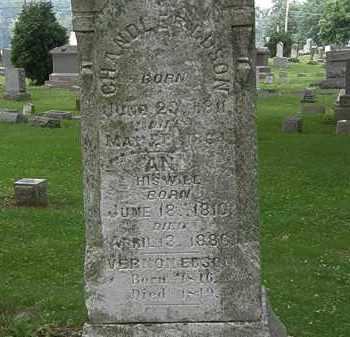 EDSON, ANN - Erie County, Ohio | ANN EDSON - Ohio Gravestone Photos