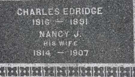 ELDRIDGE, CHARLES - Erie County, Ohio | CHARLES ELDRIDGE - Ohio Gravestone Photos