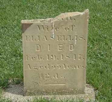 ELLIS, ELIAS - Erie County, Ohio | ELIAS ELLIS - Ohio Gravestone Photos