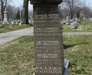 JOHNSTON, ADA - Erie County, Ohio | ADA JOHNSTON - Ohio Gravestone Photos