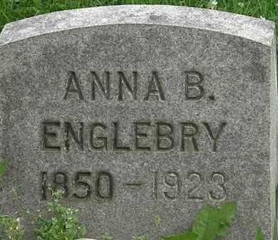 ENGLEBRY, ANNA M. - Erie County, Ohio | ANNA M. ENGLEBRY - Ohio Gravestone Photos
