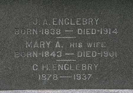 ENGLEBRY, J.A. - Erie County, Ohio | J.A. ENGLEBRY - Ohio Gravestone Photos