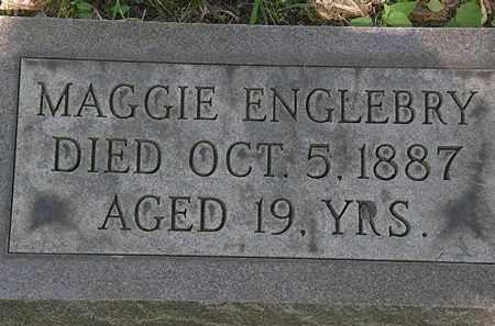 ENGLEBRY, MAGGIE - Erie County, Ohio | MAGGIE ENGLEBRY - Ohio Gravestone Photos