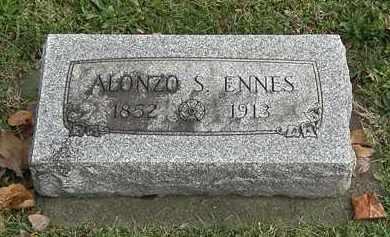 ENNES, ALONZO S. - Erie County, Ohio | ALONZO S. ENNES - Ohio Gravestone Photos
