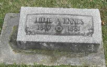 ENNES, LILLIE - Erie County, Ohio | LILLIE ENNES - Ohio Gravestone Photos