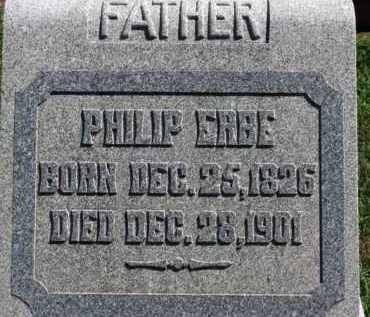 ERBE, PHILLIP - Erie County, Ohio   PHILLIP ERBE - Ohio Gravestone Photos