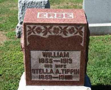 ERBE, WILLIAM - Erie County, Ohio | WILLIAM ERBE - Ohio Gravestone Photos