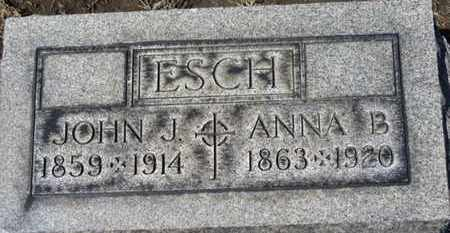 ESCH, ANNA B. - Erie County, Ohio   ANNA B. ESCH - Ohio Gravestone Photos