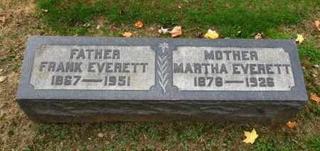 EVERETT, FRANK - Erie County, Ohio | FRANK EVERETT - Ohio Gravestone Photos