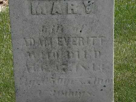 EVERITT, ADAM - Erie County, Ohio | ADAM EVERITT - Ohio Gravestone Photos