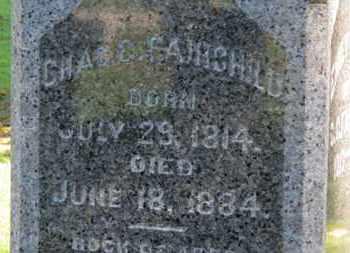 FAIRCHILD, CHAS. C. - Erie County, Ohio | CHAS. C. FAIRCHILD - Ohio Gravestone Photos