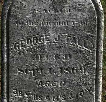 FALL, JOSEPH J. - Erie County, Ohio | JOSEPH J. FALL - Ohio Gravestone Photos