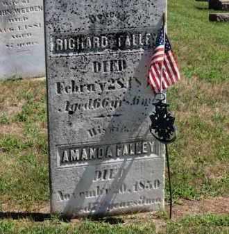 FALLEY, RICHARD - Erie County, Ohio | RICHARD FALLEY - Ohio Gravestone Photos