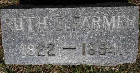 FARMER, RUTH D. - Erie County, Ohio | RUTH D. FARMER - Ohio Gravestone Photos