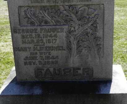 FAUSER, GEORGE - Erie County, Ohio | GEORGE FAUSER - Ohio Gravestone Photos