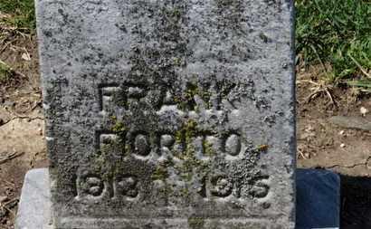 FIORITO, FRANK - Erie County, Ohio   FRANK FIORITO - Ohio Gravestone Photos