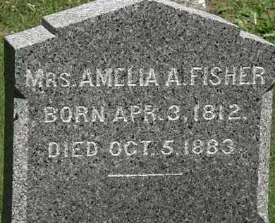 FISHER, AMELIA A. - Erie County, Ohio | AMELIA A. FISHER - Ohio Gravestone Photos