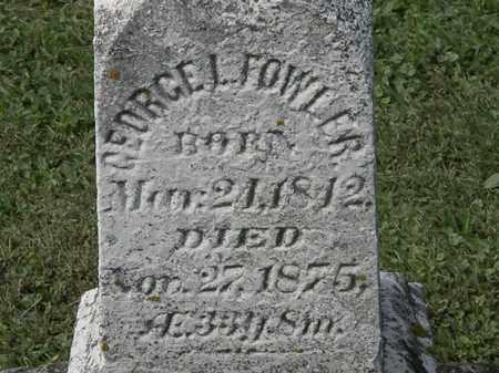 FOWLER, GEORGE L. - Erie County, Ohio | GEORGE L. FOWLER - Ohio Gravestone Photos