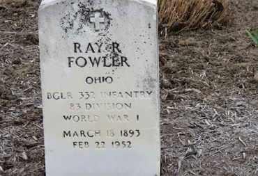 FOWLER, RAY R. - Erie County, Ohio   RAY R. FOWLER - Ohio Gravestone Photos