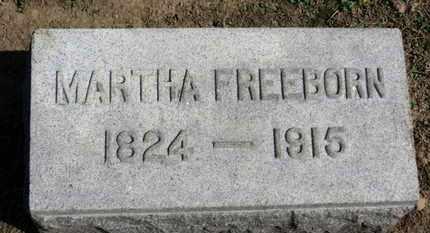 FREEBORN, MARTHA - Erie County, Ohio | MARTHA FREEBORN - Ohio Gravestone Photos