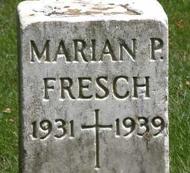 FRESCH, MARIAN P. - Erie County, Ohio   MARIAN P. FRESCH - Ohio Gravestone Photos