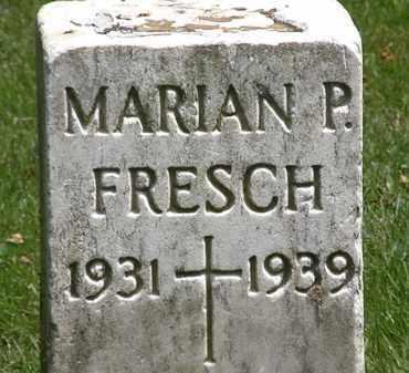 FRESCH, MARIAN P. - Erie County, Ohio | MARIAN P. FRESCH - Ohio Gravestone Photos