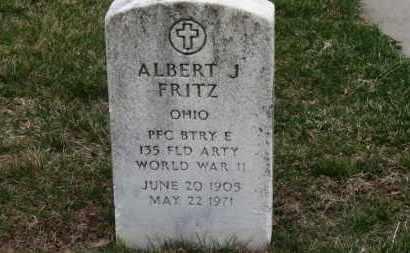 FRITZ, ALBERT J. - Erie County, Ohio | ALBERT J. FRITZ - Ohio Gravestone Photos