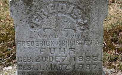 FUHR, CHRISTENIA - Erie County, Ohio | CHRISTENIA FUHR - Ohio Gravestone Photos