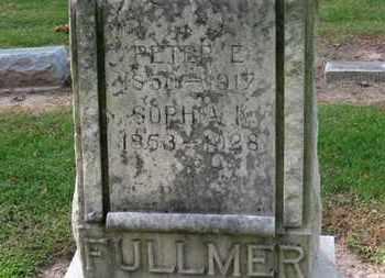 FULLMER, SOPHIA K. - Erie County, Ohio   SOPHIA K. FULLMER - Ohio Gravestone Photos