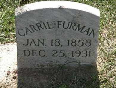 FURMAN, CARRIE - Erie County, Ohio | CARRIE FURMAN - Ohio Gravestone Photos