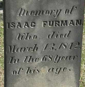FURMAN, ISAAC - Erie County, Ohio | ISAAC FURMAN - Ohio Gravestone Photos