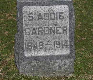 GARDNER, S. ADDIE - Erie County, Ohio | S. ADDIE GARDNER - Ohio Gravestone Photos
