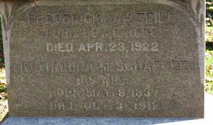 GASTEIER, KATHARINA - Erie County, Ohio | KATHARINA GASTEIER - Ohio Gravestone Photos
