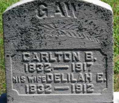 GAW, DELILAH E. - Erie County, Ohio   DELILAH E. GAW - Ohio Gravestone Photos