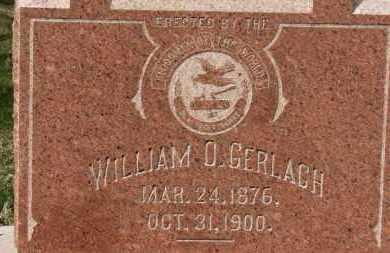 GERLACH, WILLIAM O. - Erie County, Ohio   WILLIAM O. GERLACH - Ohio Gravestone Photos