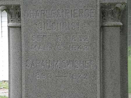 GILCHRIST, CHARLES PIERCE - Erie County, Ohio | CHARLES PIERCE GILCHRIST - Ohio Gravestone Photos