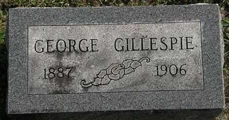 GILLESPIE, GEORGE - Erie County, Ohio   GEORGE GILLESPIE - Ohio Gravestone Photos