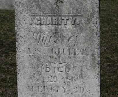 GILLET, CHARITY - Erie County, Ohio   CHARITY GILLET - Ohio Gravestone Photos