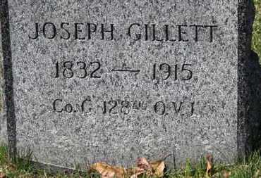 GILLETT, JOSEPH - Erie County, Ohio | JOSEPH GILLETT - Ohio Gravestone Photos