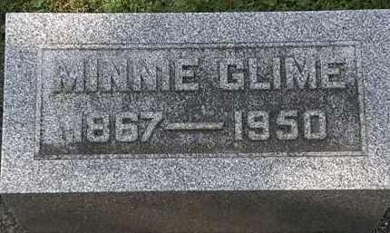 GLIME, MINNIE - Erie County, Ohio | MINNIE GLIME - Ohio Gravestone Photos