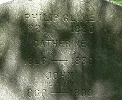 GLIME, PHILIP - Erie County, Ohio | PHILIP GLIME - Ohio Gravestone Photos